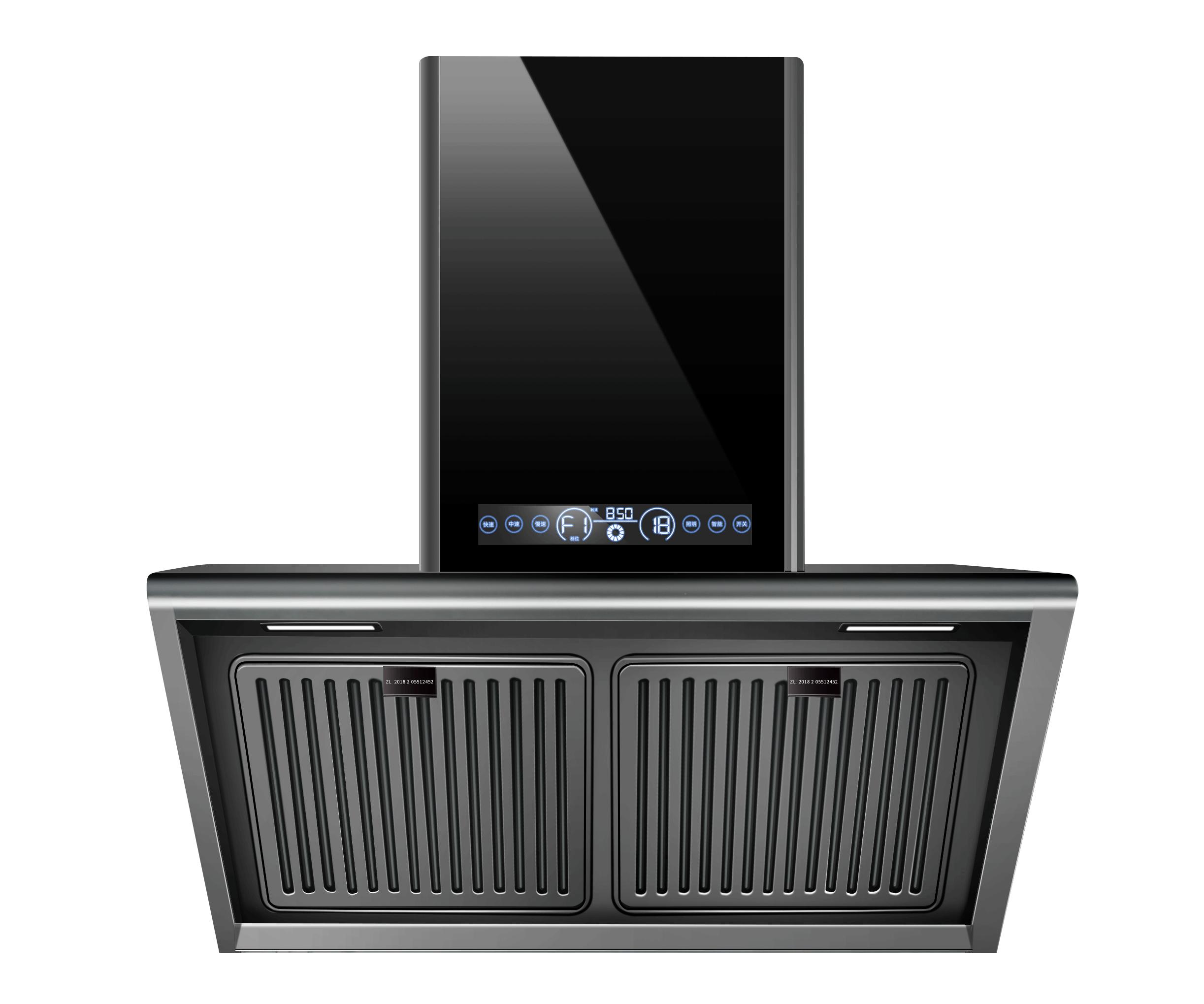超人侧吸油烟机  CXW-265-AC68 双重清洗 专利油烟分离 智能体感 一键自动清洗