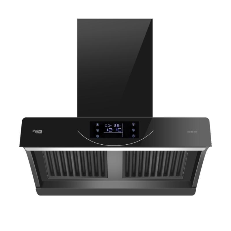 超人(chaoren)油烟机CXW-280-AC80家用厨房爆炒体感大吸力侧吸式免清洗智能安防抽油烟机
